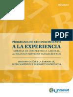 Modulo 1. Introducción a la Farmacia, medicamentos y dispositivos médicos.pdf