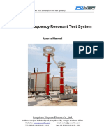 HVFS - Variable Frequency Resonant Test System