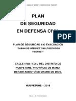 plan de contingencia internet