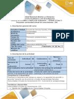 Guía de actividades y rúbrica de evaluación – Unidad 2-Fase 2 - Presentar comunidad virtual de conocimiento- CVC.docx