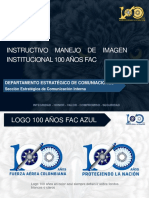 Instructivo Imagen Institucional Campaña 100 Años Fac