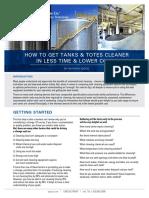 Waktu Cleaning Di Industri Makanan