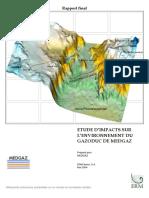 Etude d'Impacts Sur l'Environnement Du Gazoduc MEDGAZ