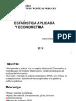 Presentación cursomultivariable  2012