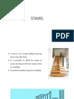 Stairs in civil engineering