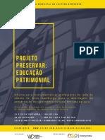 Projeto Preservar Educação Patrimonial