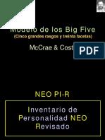 Perfil Personal e Items NEO PI-R