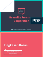 Case 2 - PPT Beauville Furniture Corporation