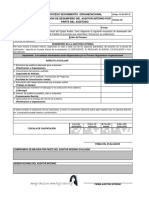 F-csg-sst-22-Evaluación de Desempeño Del Auditor Interno
