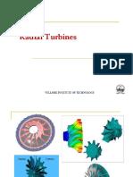 FALLSEM2019-20 MEE2026 ETH VL2019201001281 Reference Material I 24-Sep-2019 Ppt-3-B-Radial Turbines