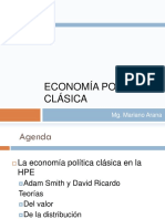 Clásicos. Smith y Ricardo. Intro Econ UNGS