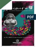 Quimera Metepec Programa 2019