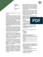 Evaluación Bimestral Filosofía Once 2019 (No Formativa)