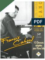 Cabrel - Spécial piano n° 6