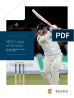 MCC Laws of Cricket Consultation