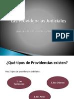 Providencias Judiciales Notificaciones y Recursos