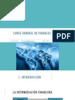 Presentacion - Curso General de Finanzas