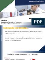 Unidad 6_Expectativas Consumo, Inversión y Financiero