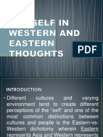 The Self in Western and Eastern Thoughts