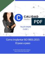 resumen ISO 9001:2015