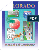 Manual de conducción de Colorado