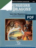 DD - Into the Maelstrom