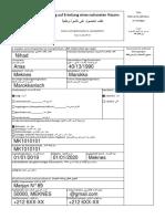 Antrag Visa Exemple