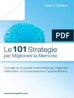 Le 101 Strategie Per Migliorare La Memoria