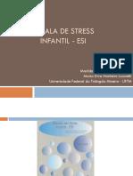 Escala de Stress Infantil - ESI_1.ppt
