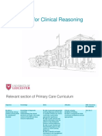 Clinical Reasoning Resources Final