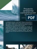Proyecto Ambiental Contaminación Hídrica