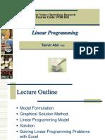 LinearProgramming R T Second Class