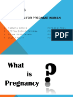 Nutrition for Pregnant Woman