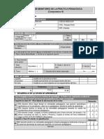 Ficha de Monitoreo -Impreso