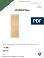 Puerta Pórtico 2 Paneles - Promasa - 1009788