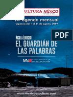Mi agenda mensual (Agosto-2019)