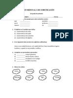 Examen Mensual i de Comunicación
