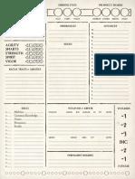 SW Eberron Character Sheet SWADE v2
