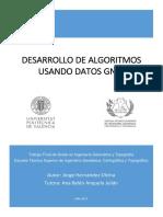 DESARROLLO DE ALGORITMOS USANDO DATOS GNSS