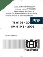 2003 610 Repair