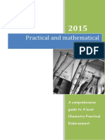 Practical and Mathematical Skills Booklet