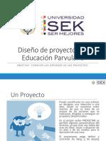 3.1 Diseño de Proyectos en Educación Parvularia