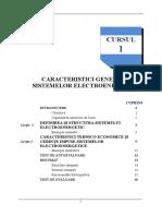 Caracteristici Generale Ale Sistemelor Electroenergetice
