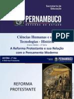 A Reforma Protestante e sua relação com o pensamento moderno.ppt
