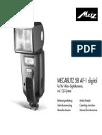 Mecablitz 58 AF 1 Digital Nikon D F NL GB I E(1)