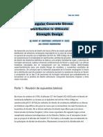 Rectangular Concrete Stress Distribucion Part 1 Revisión de Supuestos Básicos- Traduccion Español