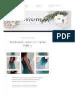 Sea Breeze Cover Up Crochet Pattern