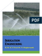 Irrigation Engineering India