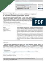 Pendidikan kewirausahaan, kurikulum dan kompetensi dosen sebagai anteseden dari niat wirausaha mahasiswa.pdf