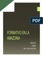 Formativo en La Amazonia